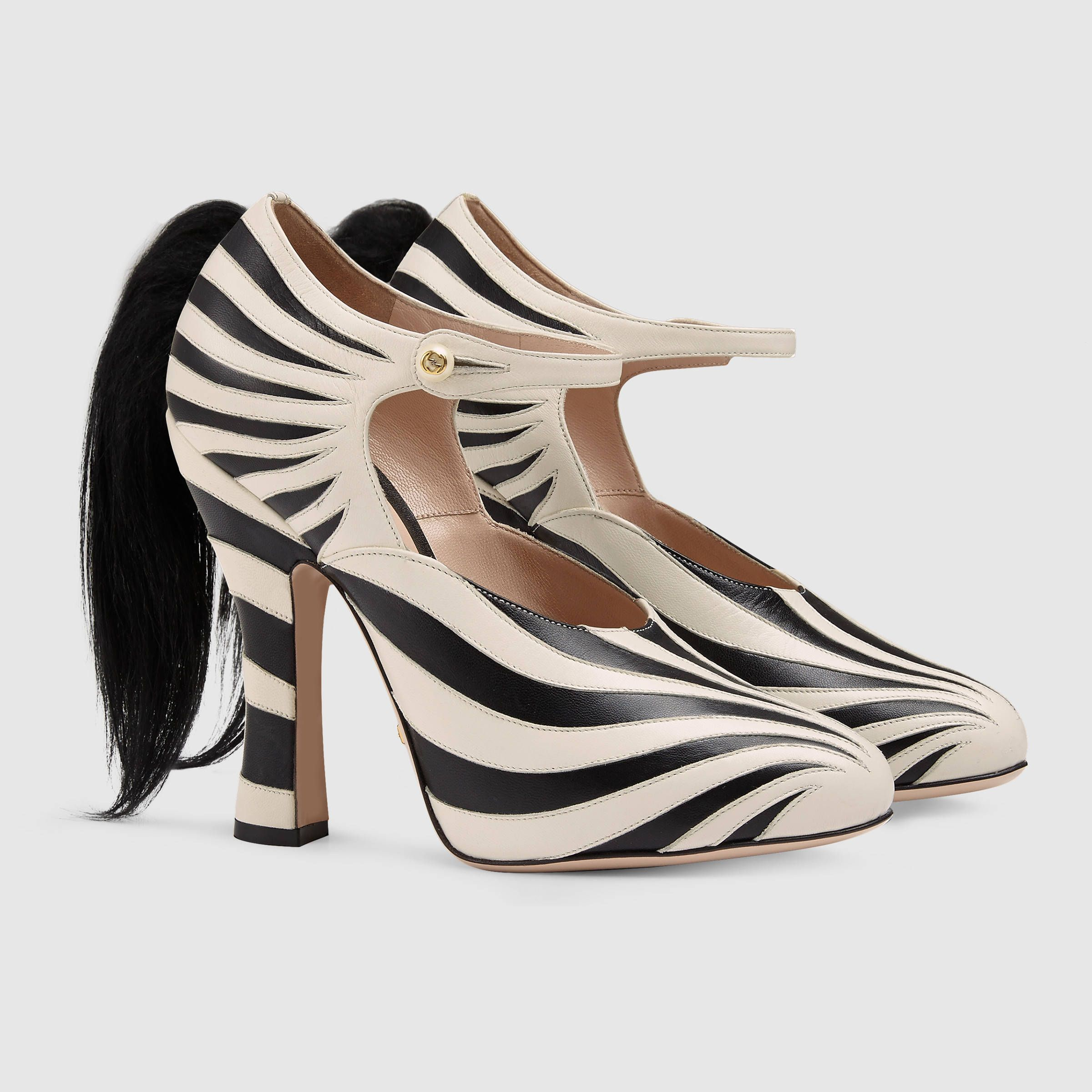 Gucci Zebra Pumps