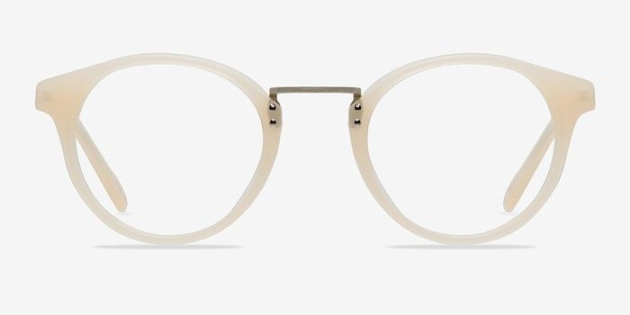 d8dd41b8c50 Get Lucky Ivory Silver Acetate Eyeglasses from EyeBuyDirect. Discover exceptional  style