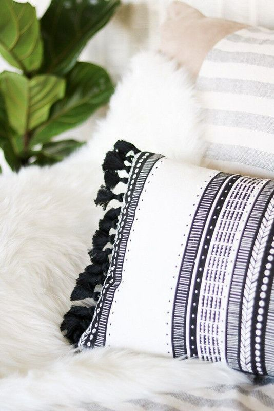 10 Trendy Tassel Diys For Your Home With Images Diy Throw