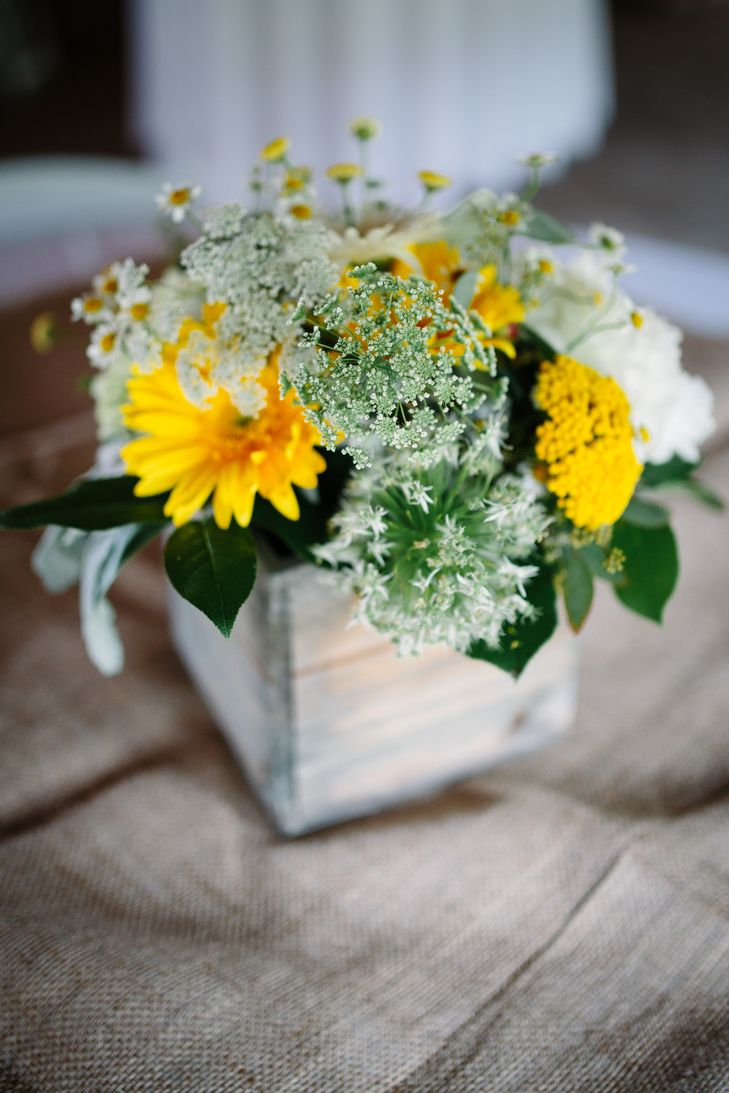 Rustic yellow and white flower centerpieces photo votive rustic yellow and white flower centerpieces photo votive photography izmirmasajfo