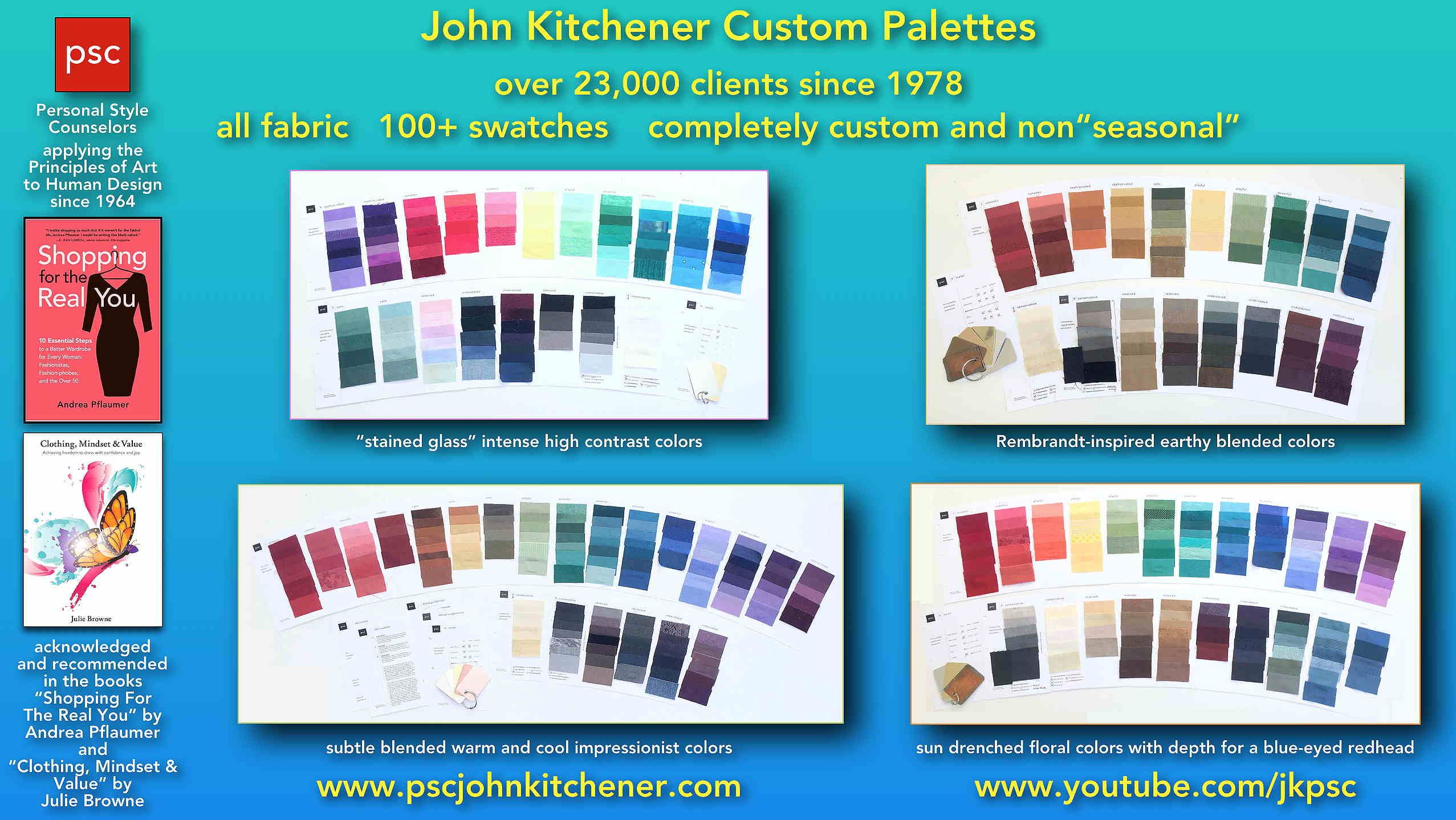 From John Kitchener: here are a few examples of the custom palette ...