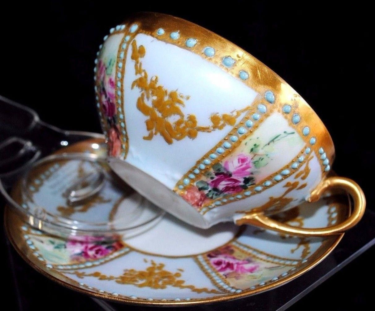 cont FOR YOUR CONSIDERATION ANTIQUE (1892-1907) GDA, LIMOGES, FRANCE ...