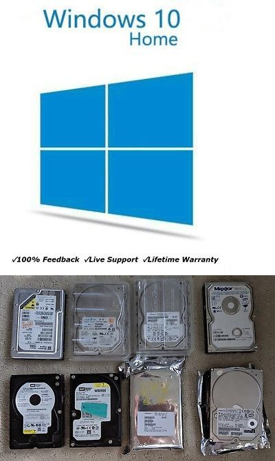 Operating Systems 11226: Microsoft Windows 10 Home 32 64 ...