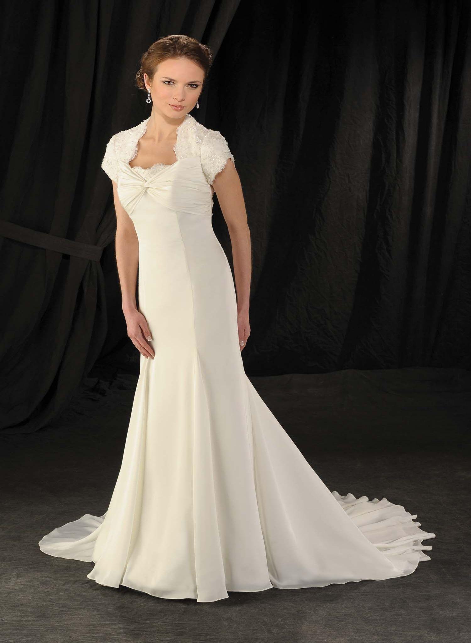 Elegant and Modern Empire Wedding Dresses Ideas : Empire Waist ...