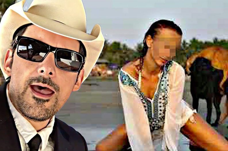 Brad Paisley Makes Fun Of Online Culture In Hilarious New Video For Selfie Theinternetisforever Brad Paisley Paisley News Video