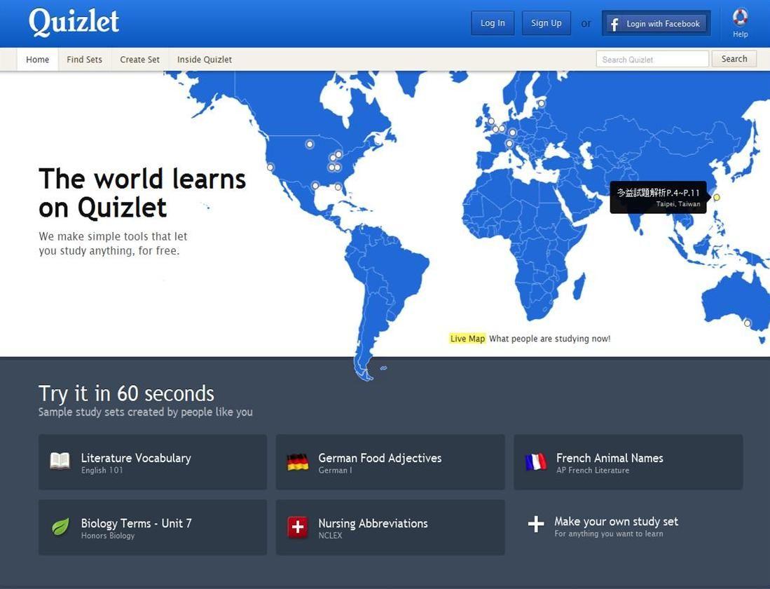 Quizlet Flashcards Study Set Free Learning
