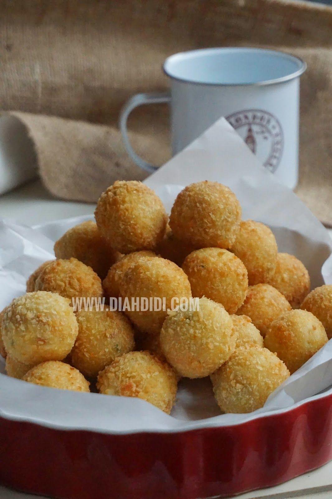Diah Didi S Kitchen Bitterballen Ayam Sosis Resep Masakan Ramadhan Makanan Resep Masakan