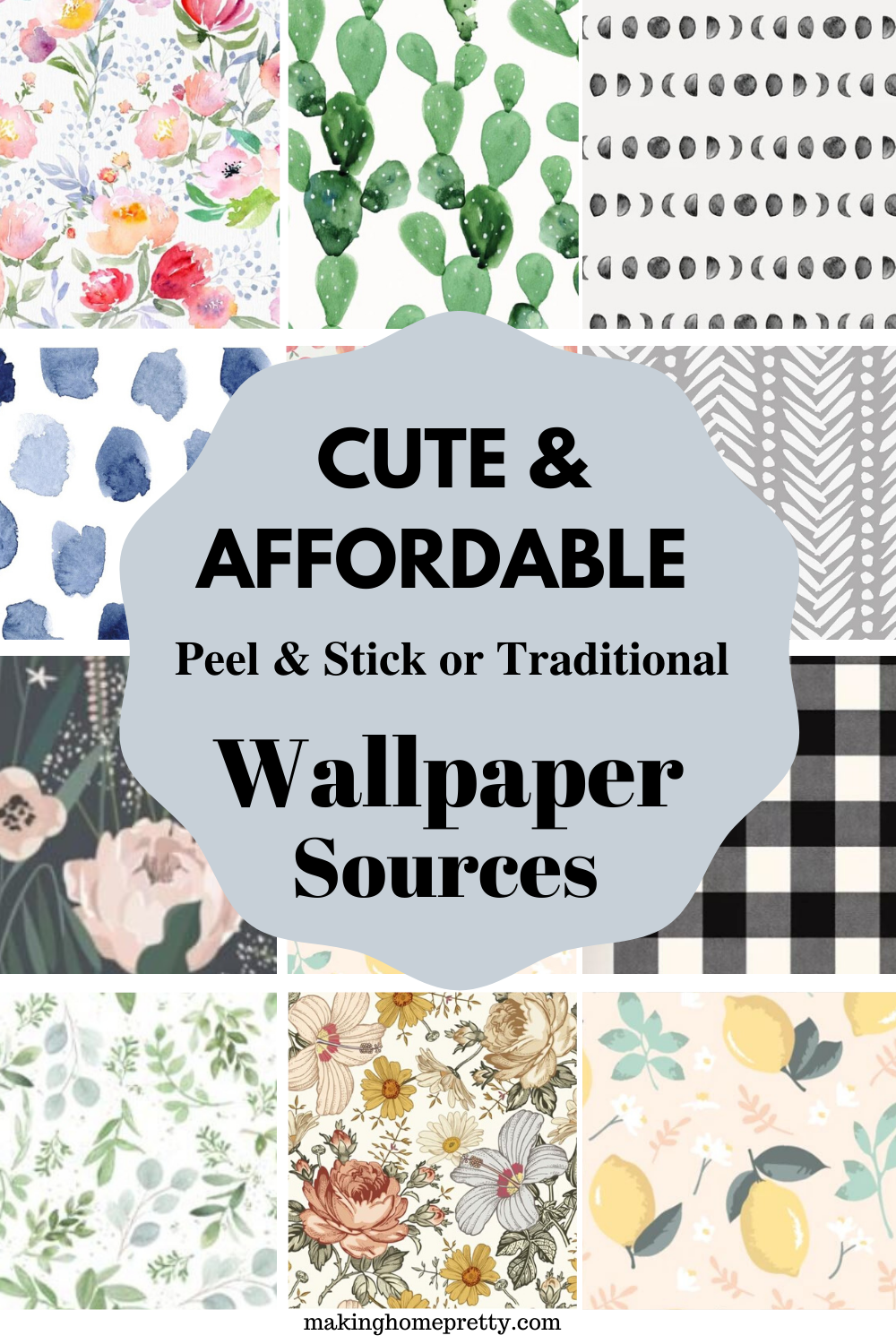 Best Places To Buy Affordable Wallpaper Affordable Wallpaper Stick On Wallpaper Temporary Wallpaper