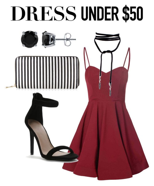 """""""GNO"""" by suzanne9462 ❤ liked on Polyvore featuring Glamorous, New Look, BERRICLE and Dressunder50"""