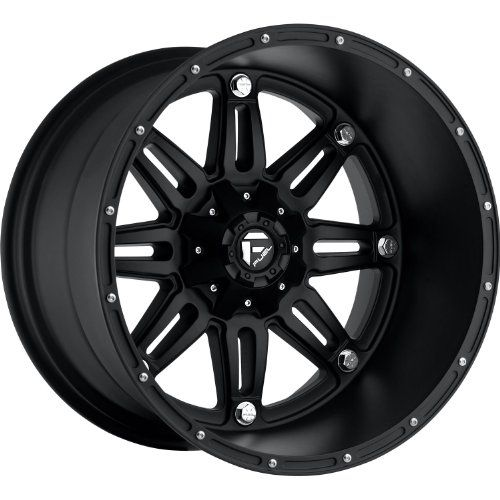 Fuel Hostage 20 Black Wheel / Rim 6×135 & 6×5.5 with a -76mm Offset and a 106.4 Hub Bore. Partnumber D53120409845