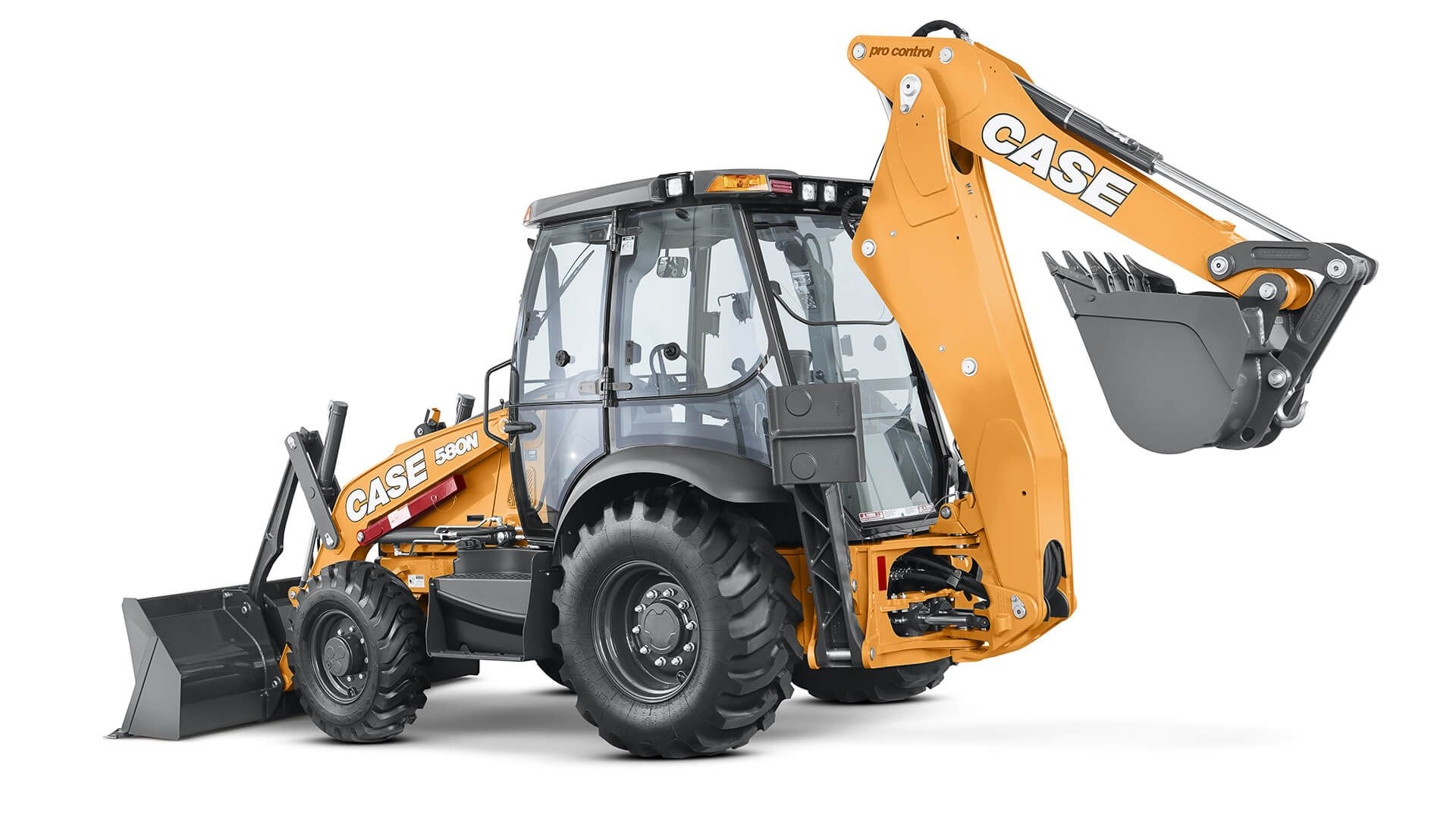 580N Backhoe Loader | CASE