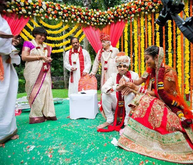 Priyanka and Tarun's Long Distance Wedding- planned in New York, held in…