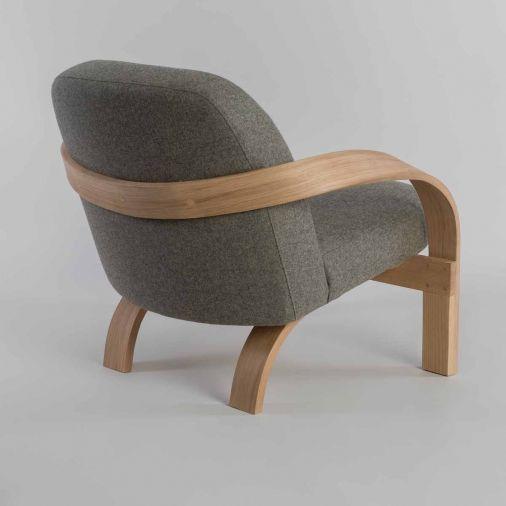 Good Steam Bent Wooden Armchair