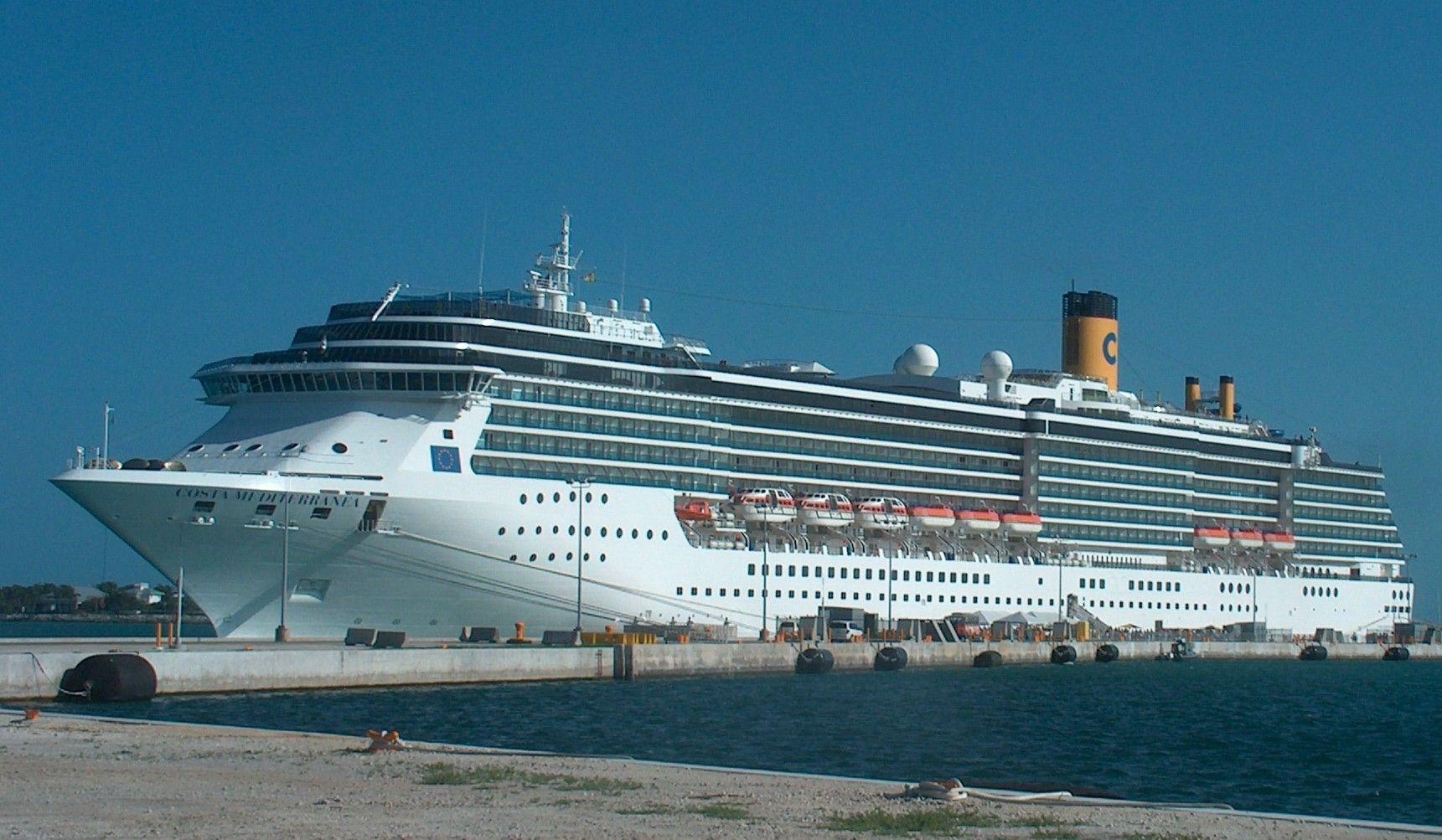 Key West FL à Key West FL Costa Mediterranea Cruiseships - Cruise ships key west