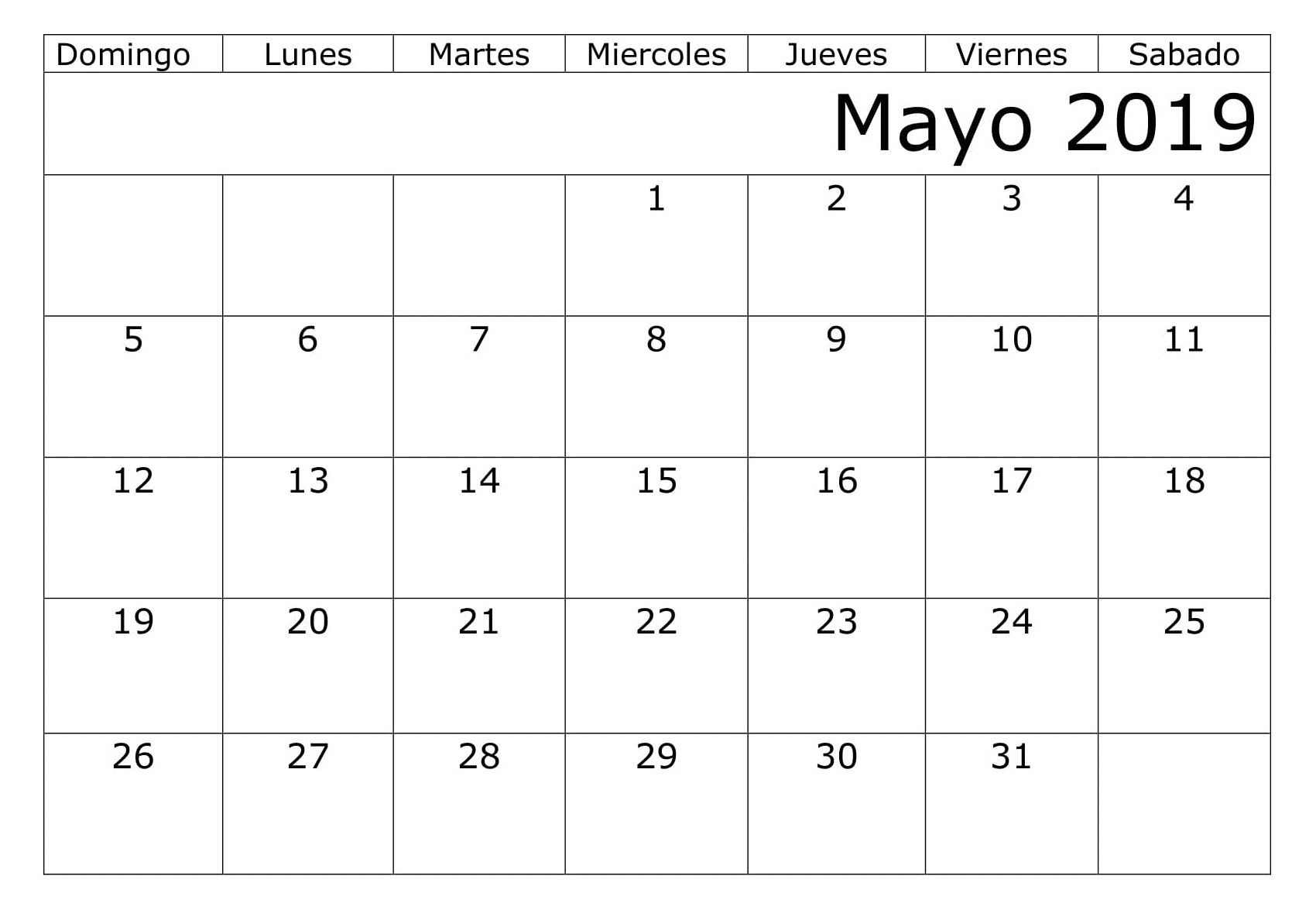 Calendario Mayo2019.Calendario Mayo 2019 Argentina Estilos 200 May 2019 Printable