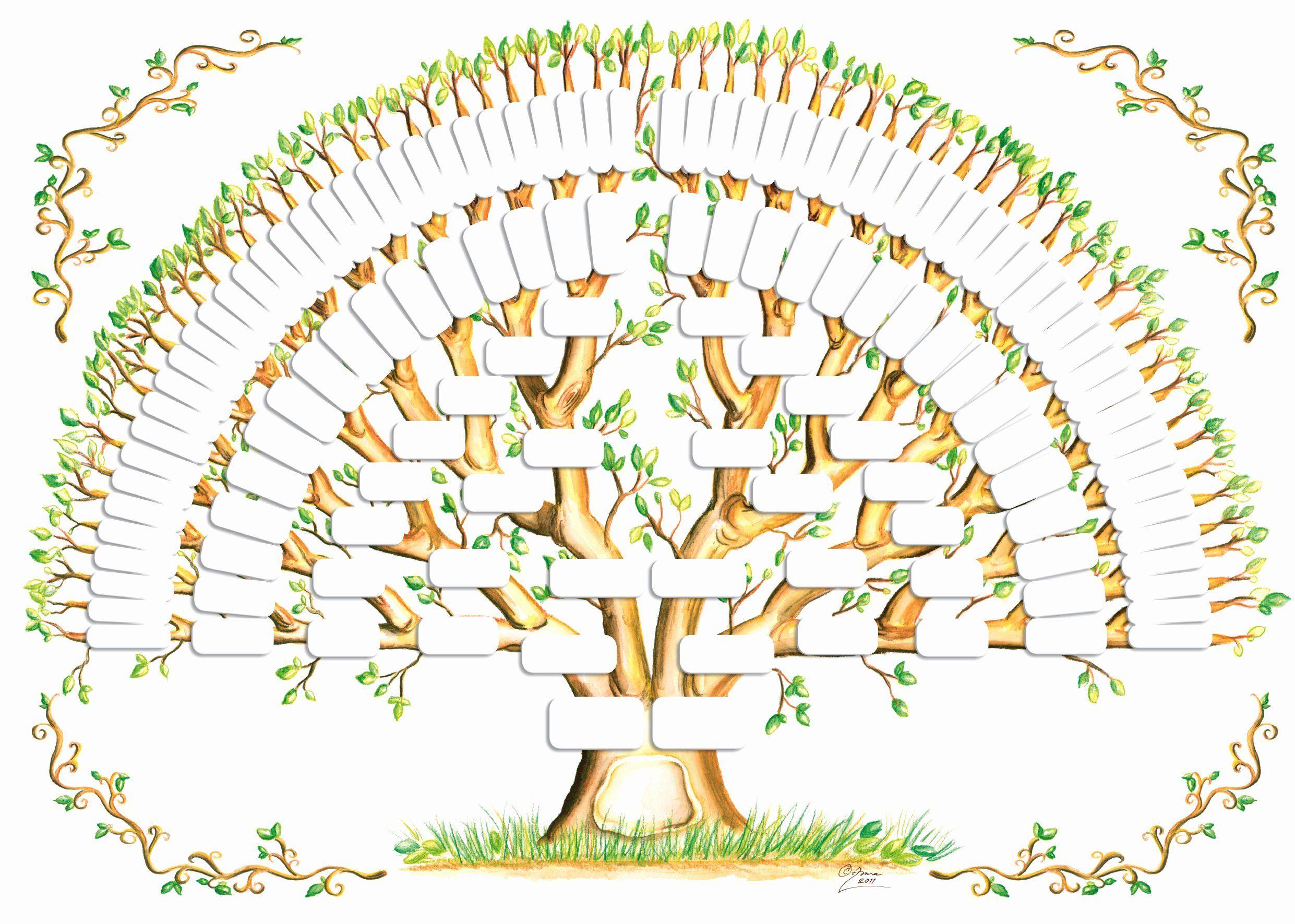 40 Fill In Family Tree