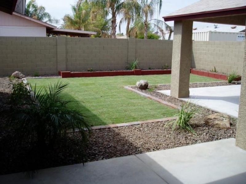 Backyard Landscaping Ideas In Phoenix Photo Gallery Regarding
