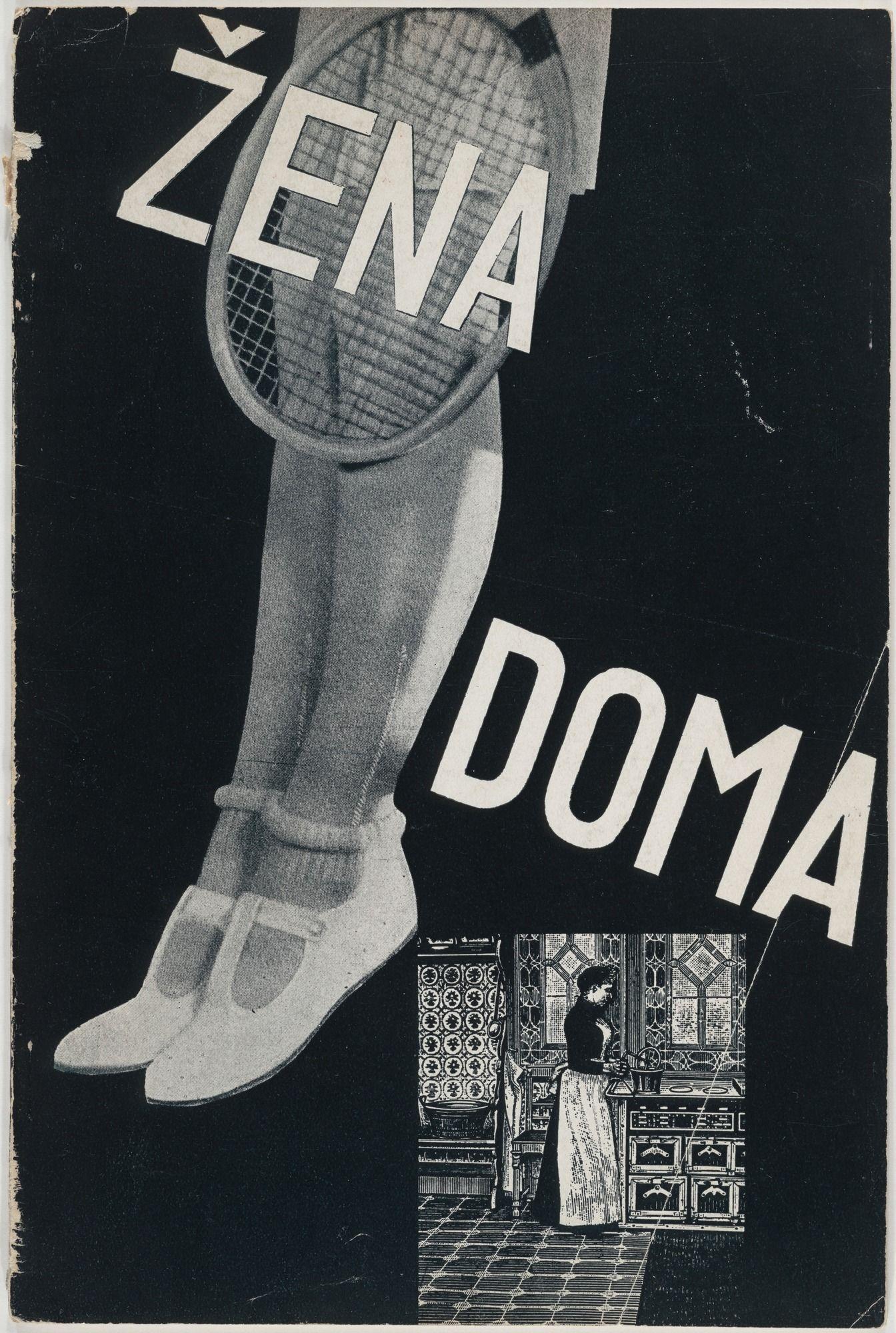 Zdenek Rossmann. Zena doma (Woman at Home) (Catalogue for
