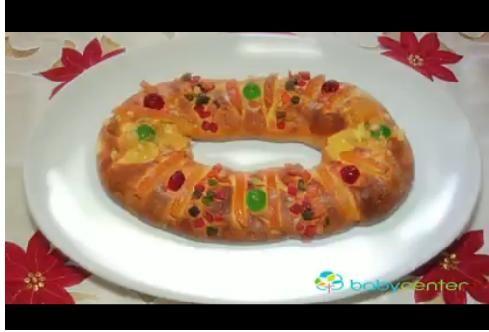 Hornea una deliciosa rosca de Reyes con tus niños. #Video #Receta