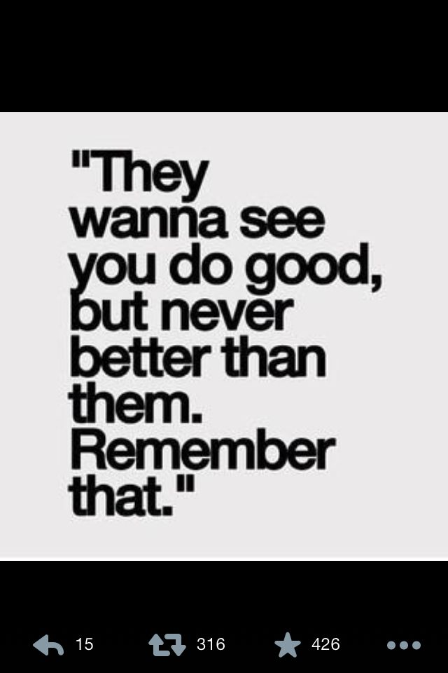 Motivation - do better than them always