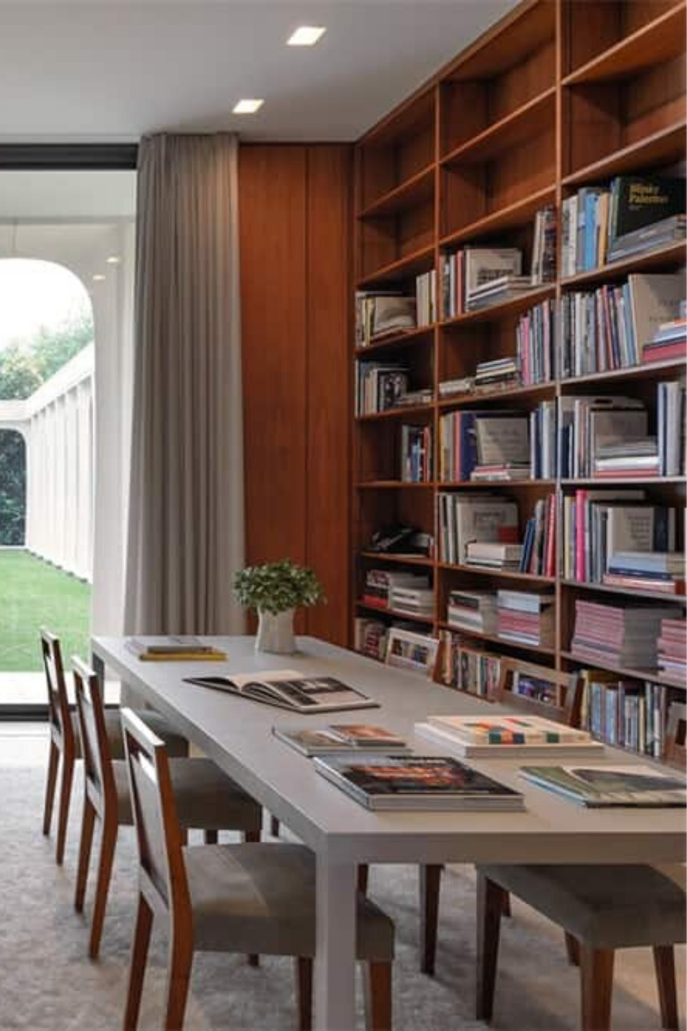Contemporary Home Library Design: Pin On Home Library Ideas