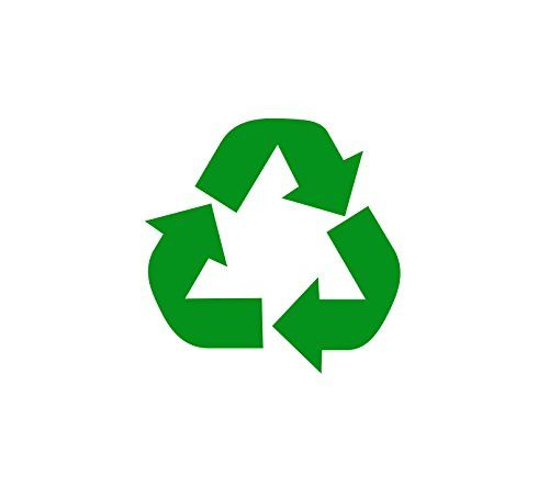 Recycle Symbol 3 Green Vinyl Decal For Flat Smooth Https