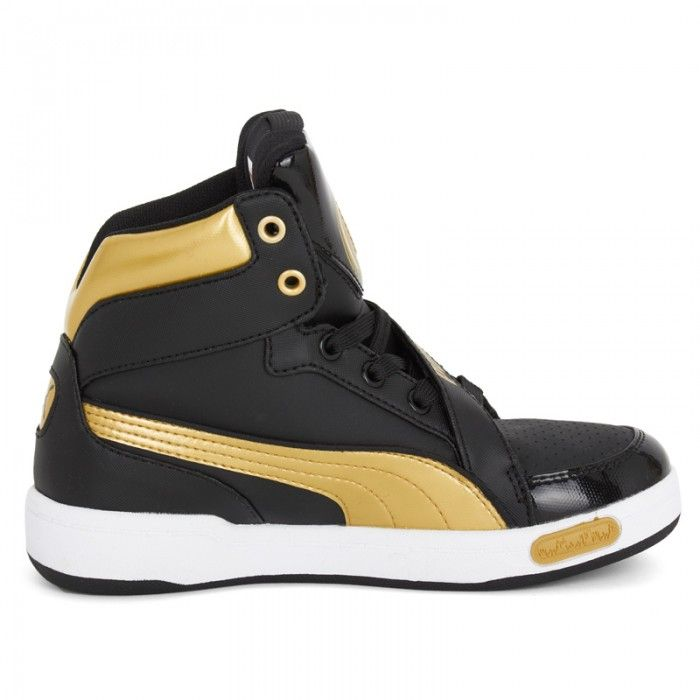 9630c356 Cool! Puma Gold and black DJ 6S high tops   Clothes, clothes and ...