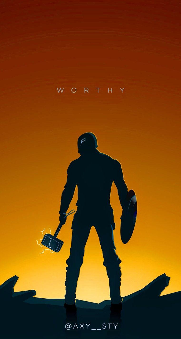 Captain America Worthy Avengers End Game Marvel Marvel