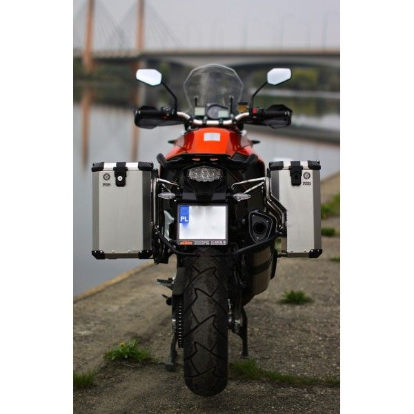 Pro Pannier System For Ktm 1190 Adv R With Nomada Pro Ii Panniers Ktm Pannier System