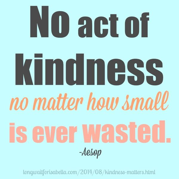 Because Kindness Matters | Kindness quotes, Uplifting quotes ...