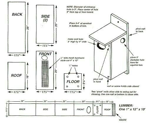 This Is One Of Many Good Wood Duck Nesting Box Plans Install On A