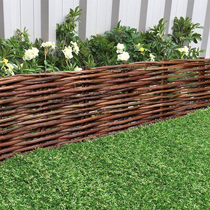 Marko Gardening Rigid Willow Garden Edging 1M Panels 400 x 300