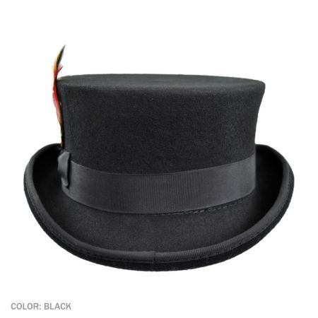 f09389147aa344 Deadman Wool Felt Top Hat | Stylin' | Jaxon hats, Hats, Wool Felt