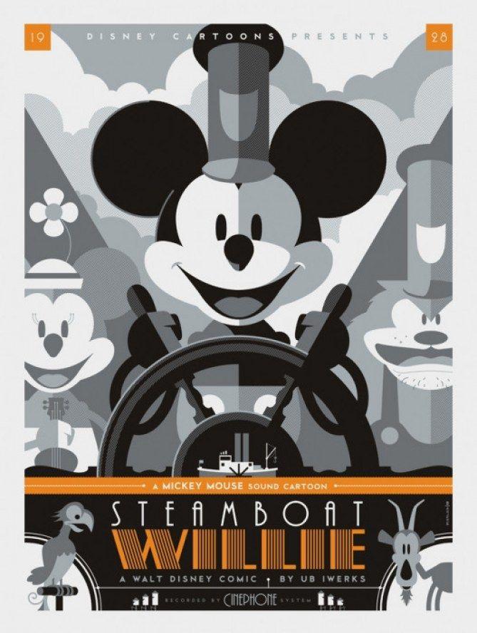 A reinvenção dos pôsteres da Disney