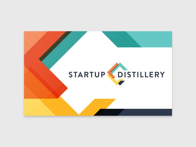Startup Distillery Logo & Business Card Concept | Business cards and ...