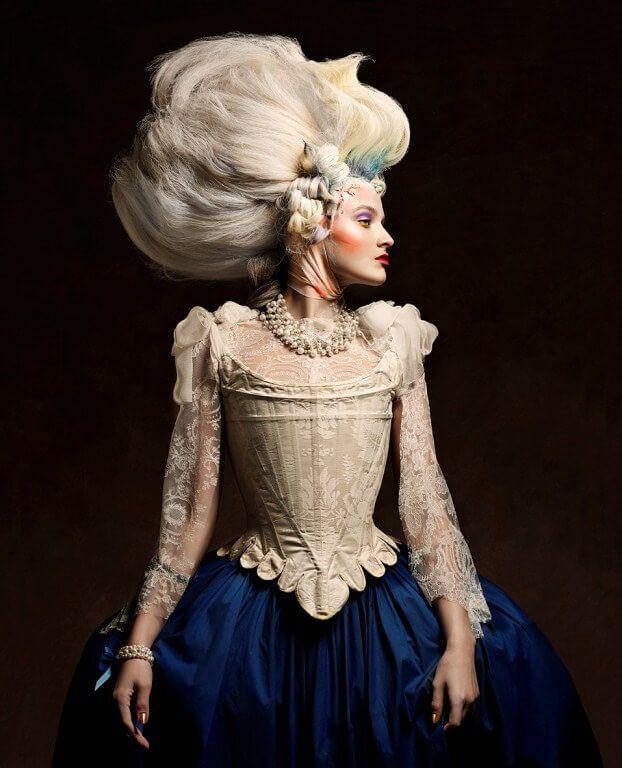 Marie Antoinette hairstyles avant-garde photographer ...