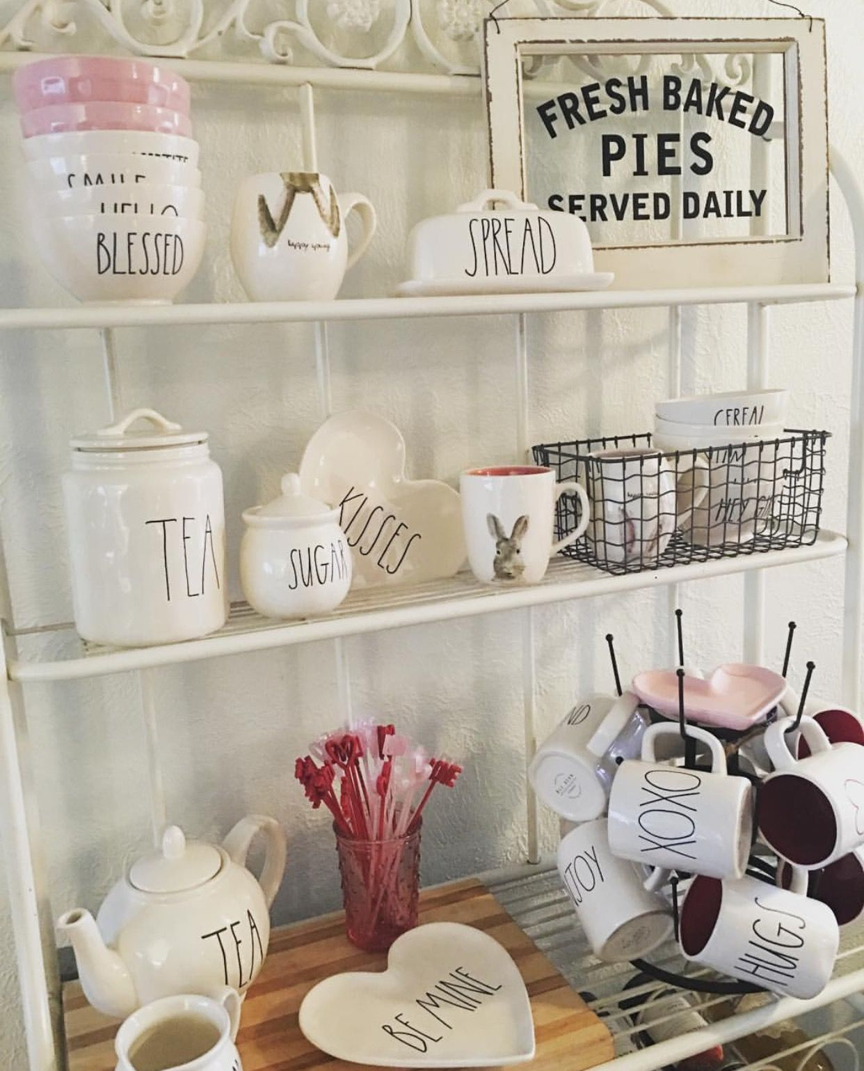 Pin by jessica efthimiades on rae dunn pinterest for Decoration shabby romantique