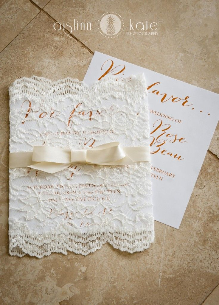 Modern Orange and White Styled Wedding Shoot | Fiesta Wedding | Lace invitation
