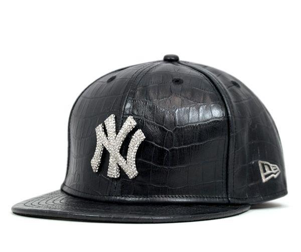 4324d8a2f New era cap New York Yankees Swarovski crocodile hat   Accessorize ...