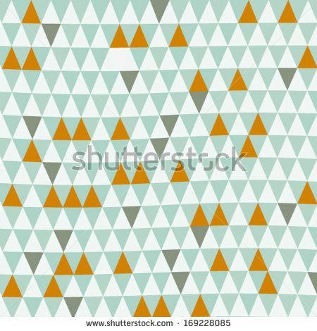 Seamless Organic Retro Basic Pastel Geometric Repeat Pattern Scandinavian Style In Vector - 193199591 : Shutterstock