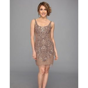 Adrianna Papell Dresses & Skirts - Adrianna Papell Beaded Sequin ...