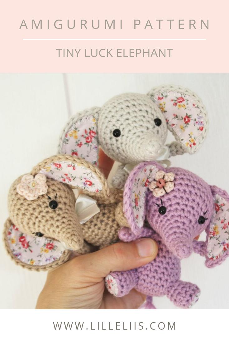 Handmade Crochet Keyring, Crochet Elephant Keyring, Handmade ... | 1102x735
