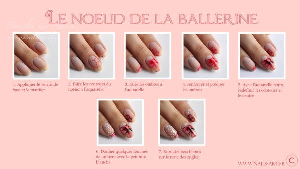 Nail Art Tutorial Bow Nails Visit Original Site For Bigger Pic