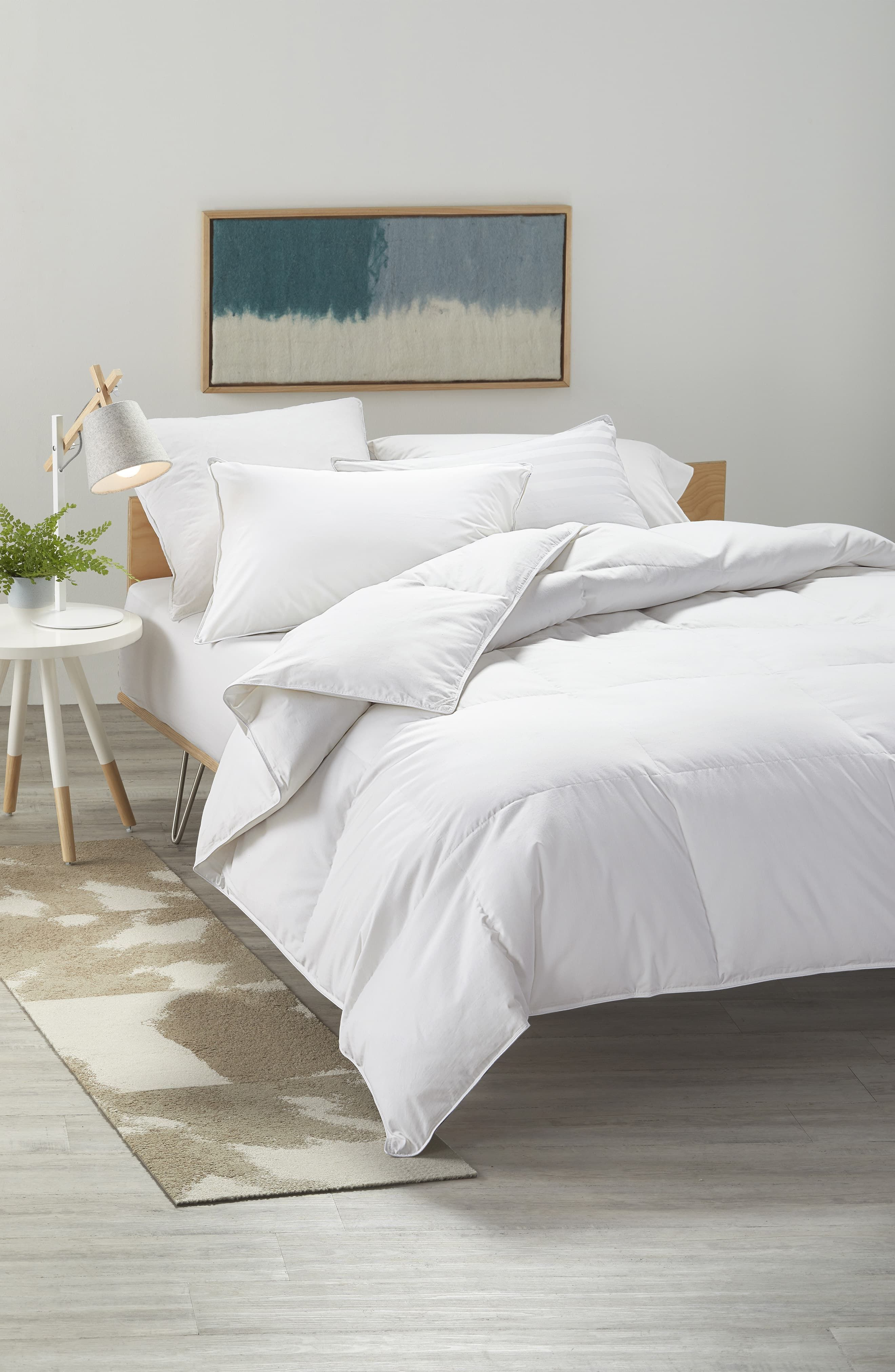 Nordstrom At Home 400 Thread Count All Season Goose Down Comforter Size King White Down Comforter Comforters Home