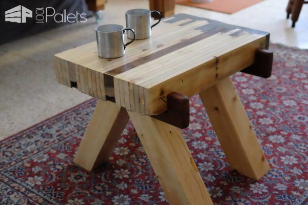 Anese Style Pallet Wood Concrete Ended Table Desks Tables