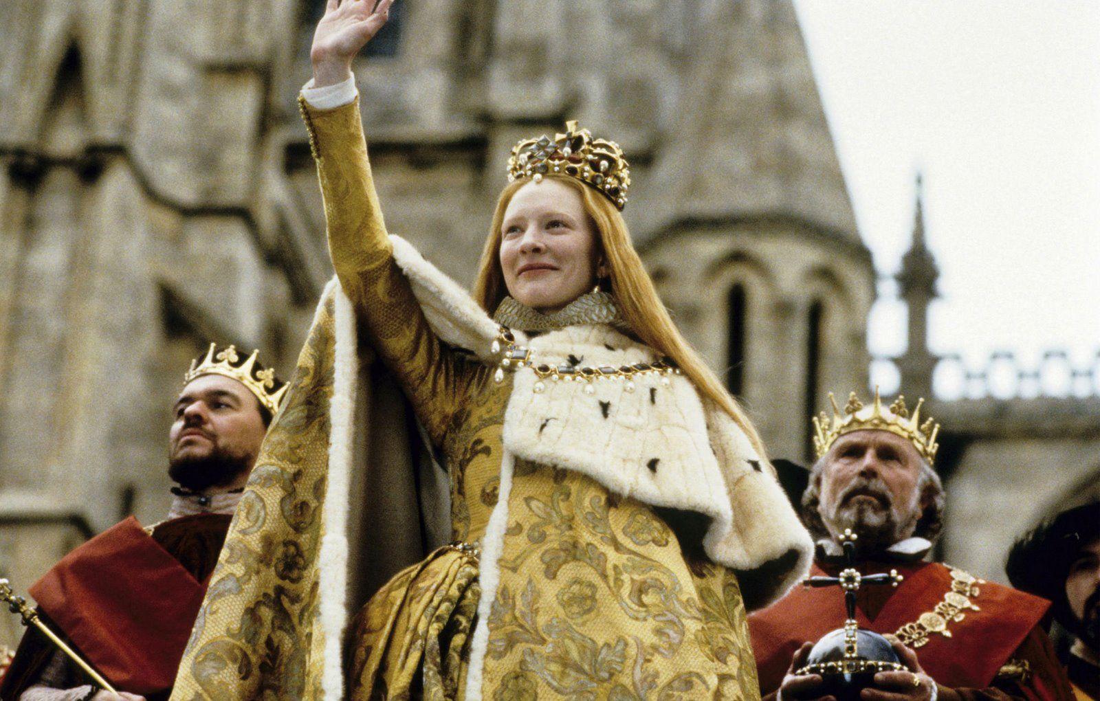 Queen Elizabeth I (Cate Blanchett) 'Elizabeth' 1998. The ...
