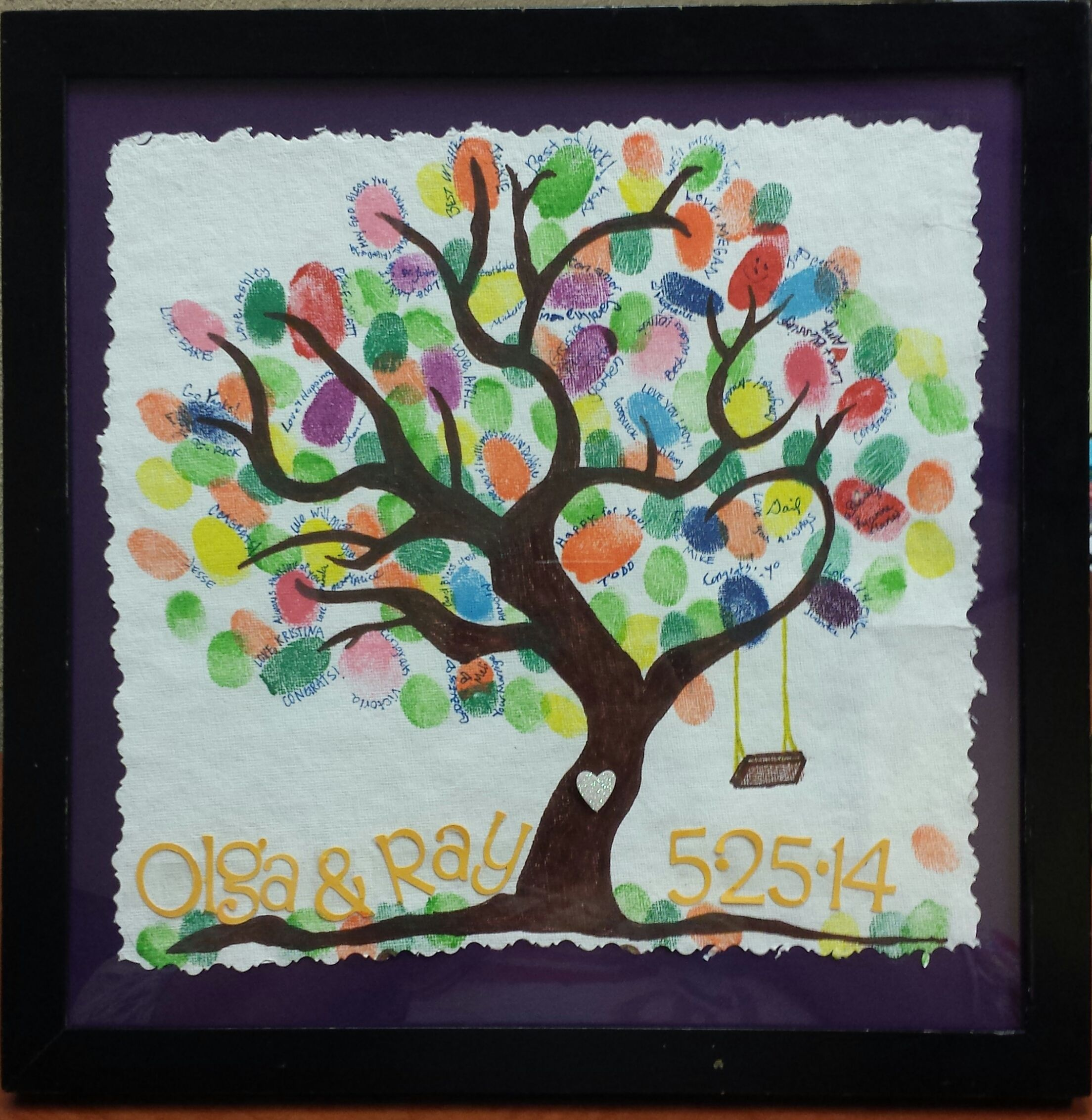 "Wedding Gift Ideas For Coworker: Work Place ""Family Tree"""