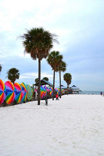 Clearwater Beach, schönster Strand in Florida