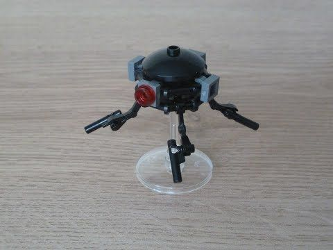 Lego Star Wars Probe Droid Instructions Magazine Gift April 2016