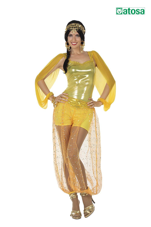 Disfraz de mujer bailarina árabe, arab, arabe en 2020